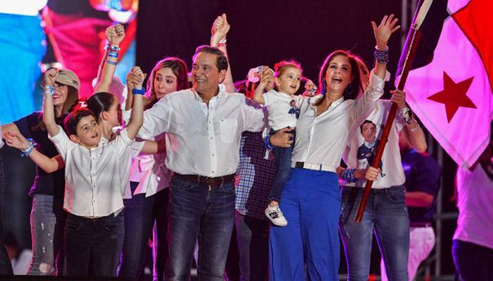 Panama's Presidential Contender Cortizo Declares Victory in Election