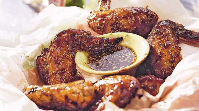 Recipe: Chicken wings with sweet and spicy plum chutney