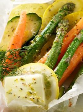 Recipe: Vegetables in lemon butter sauce