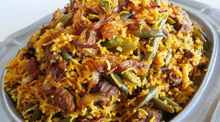 Recipe: Estamboli Pulao (Persian Tomato Rice)