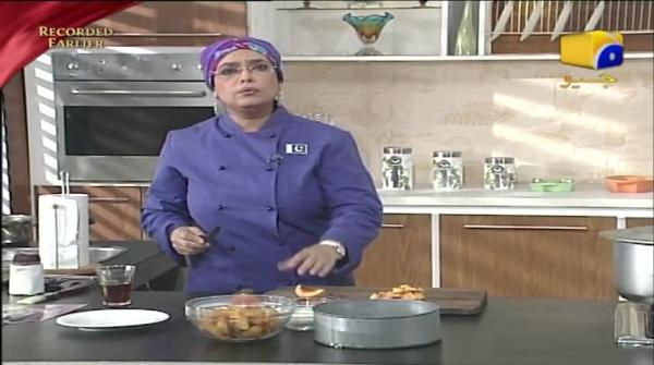 Recipe: Peach Cobbler - Rahat Cooking Show