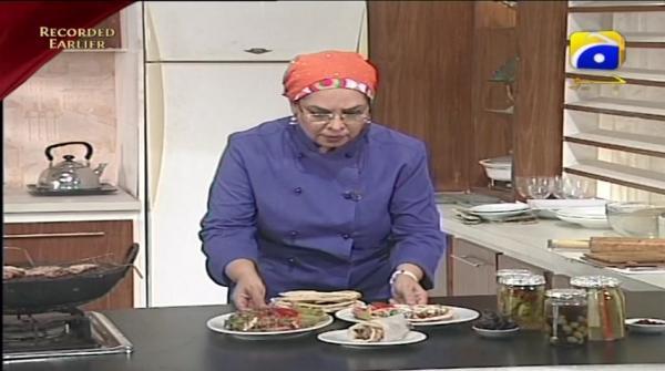 Recipe: Arabic Shawarma, Khubz and Tahini Paste - Rahat Cooking Show