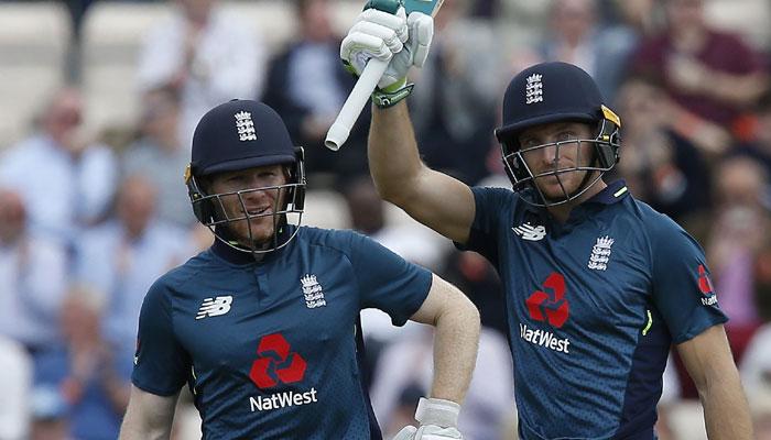 Jos Buttler: Eoin Morgan praises 'freakish' England batsman after ODI win
