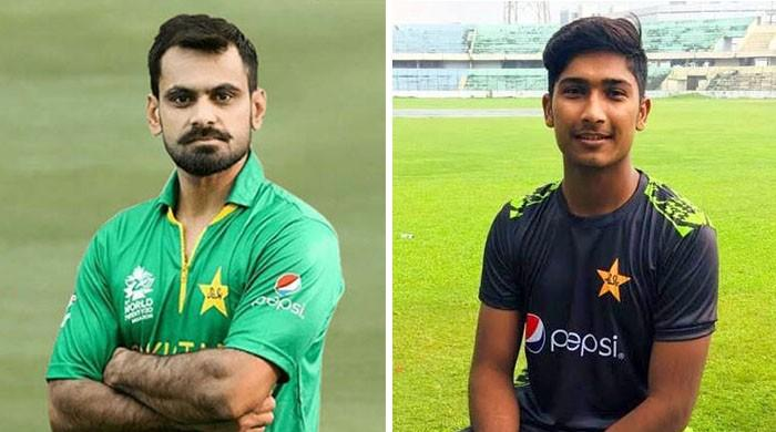 Hafeez, Hasnain expected to play fourth ODI against England