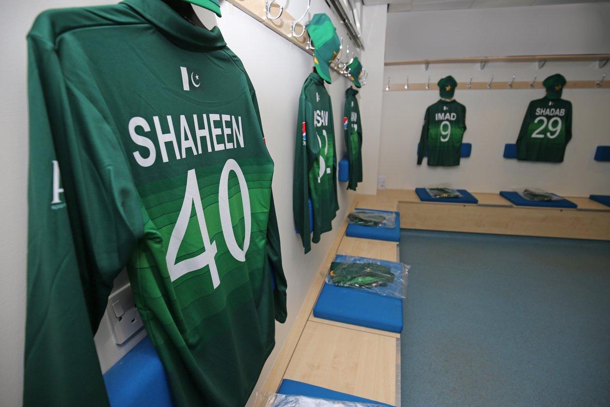 Pakistan World Cup 2019 kit. Photo: PCB Twitter