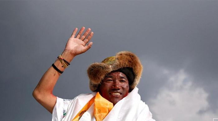 Nepali scales Everest record 24 times; with one more to go