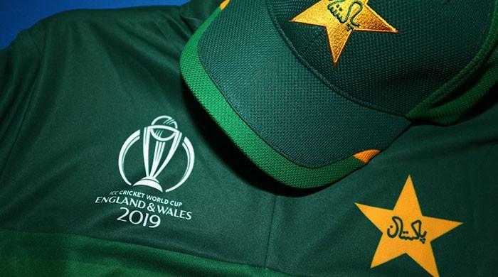 Pakistan unveil official World Cup 2019 kit