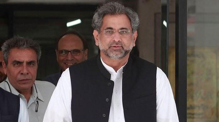 Shahid Khaqan Abbasi raises questions over NAB Chairman's integrity