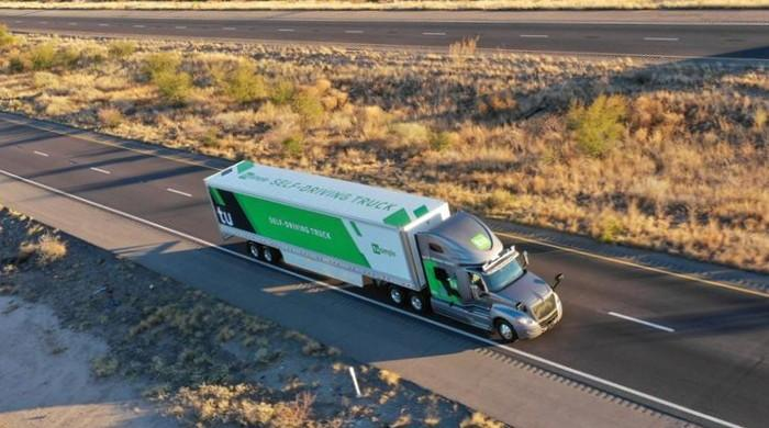 Self-driving trucks begin mail delivery test for USPS