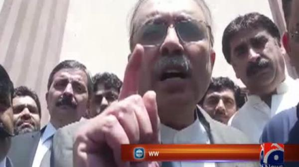 Zardari says Chairman NAB doesn't have right to give an interview