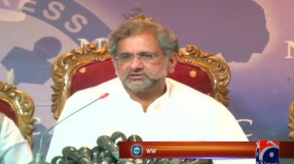 Shahid Khaqan Abbasi raises questions over NAB Chairman's integrity