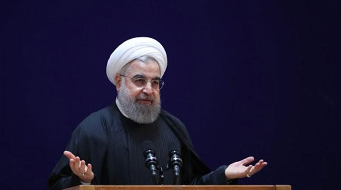 President Hassan Rouhani rejects talks, says Iran faces US 'economic war'