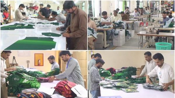 The making of Pakistan's World Cup kit