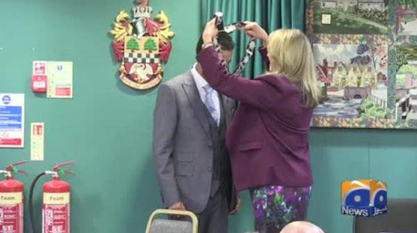 Geo News Special – Councillor Qaisar Chaudhry Elected Mayor In Chesham Town Hall