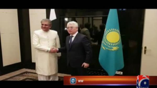 Qureshi holds key meetings on sidelines of SCO foreign ministers meet