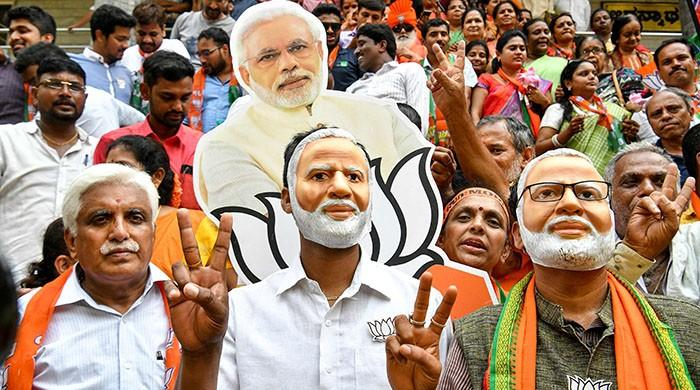 Narendra Modi claims Indian election victory