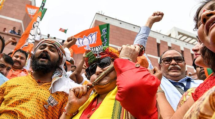 Indian elections 2019: Modi led BJP coalition leads polls