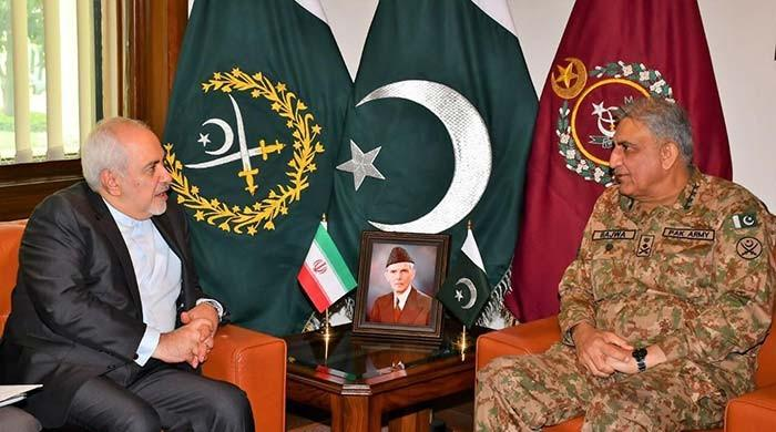 War not in anyone's interest, COAS Gen Bajwa tells Iranian FM Javed Zarif
