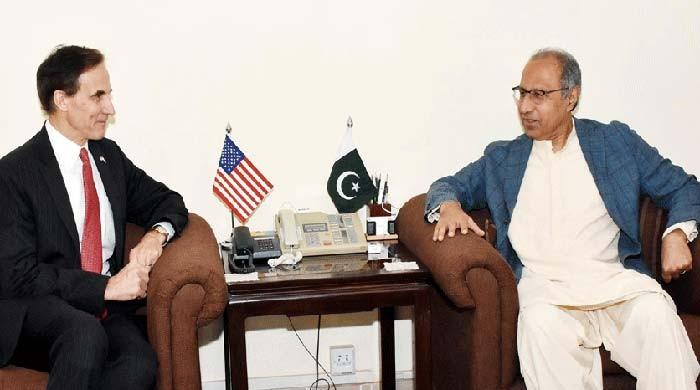 US envoy calls on Finance Adviser Hafeez Shaikh