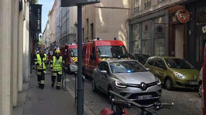 Bomb blast on street in France's Lyon leaves eight wounded