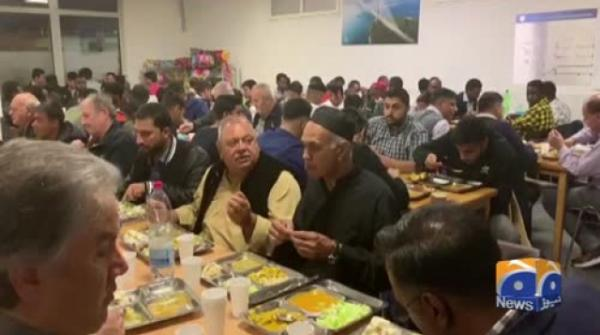 Geo News Special – Pakistani Community Organizes Iftar Dinner For Muslims From Other Countries