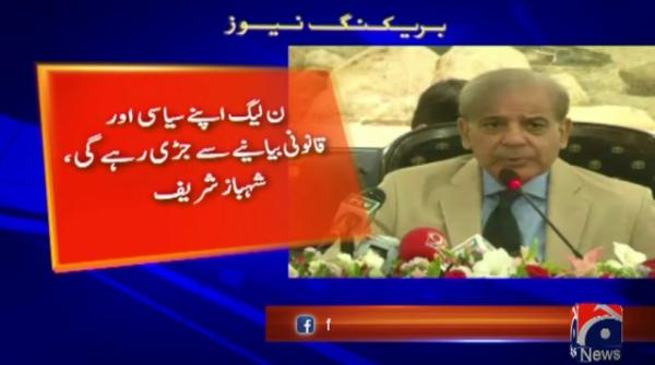 PML-N to stay out of recent NAB chairperson issue, says Shehbaz