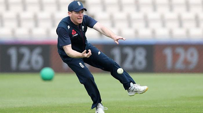 England's Eoin Morgan injures finger ahead of World Cup