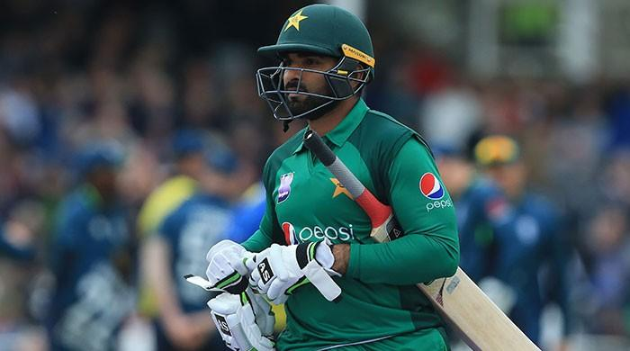 Asif Ali leaves for England to rejoin Pakistan team for World Cup