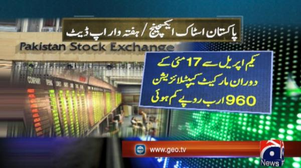 Pakistani stocks register highest weekly gain in a decade after record losses over rupee fluctuation