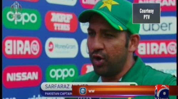 Sarfaraz Ahmed says atmosphere in Pakistan dressing room is fine