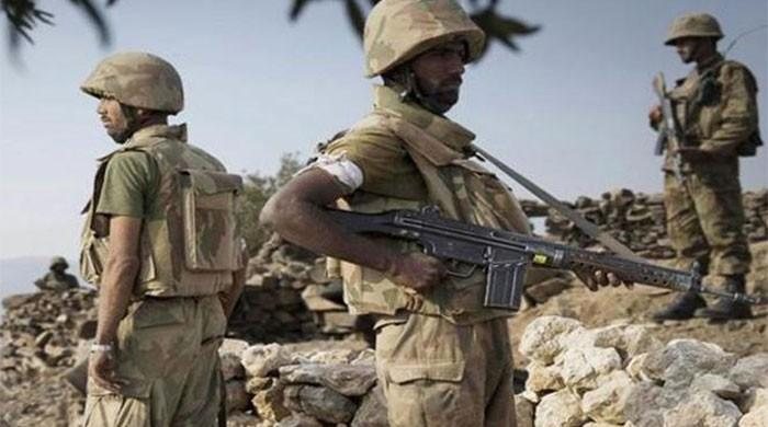 One soldier martyred as security forces repulse terrorist attack in N Waziristan