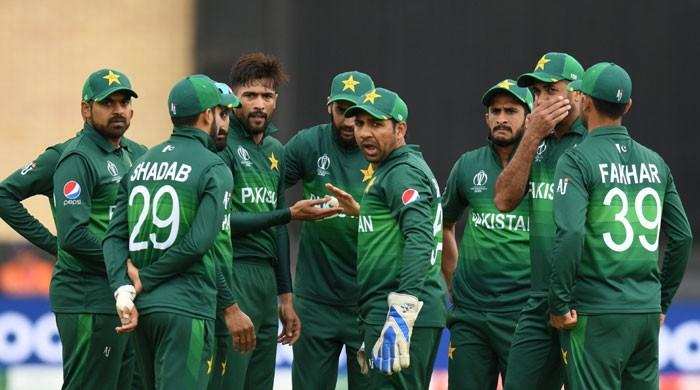 Pakistan score their all-time second lowest World Cup score
