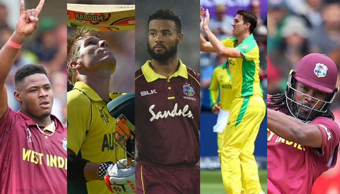 Australia vs West Indies - Highlights & Stats