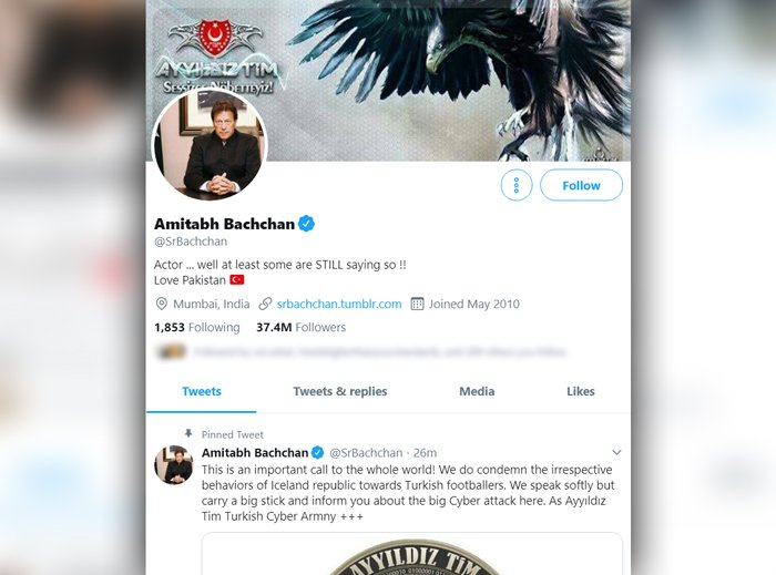 Amitabh Bachchan becomes victim of cybercrime, Twitter account hacked