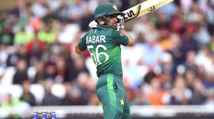 What does Babar Azam lack as compared to other world-class batsmen?