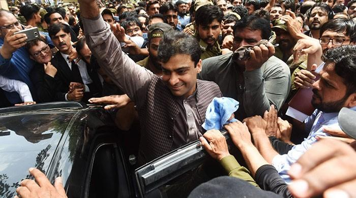 Accountability court approves 14-day physical remand of Hamza Shehbaz