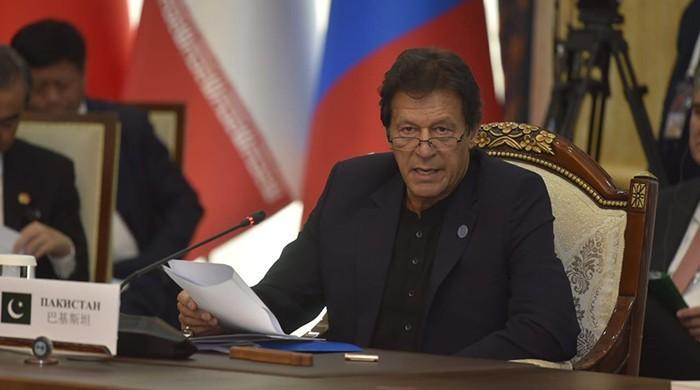 PM Imran calls for establishment of framework for combating corruption