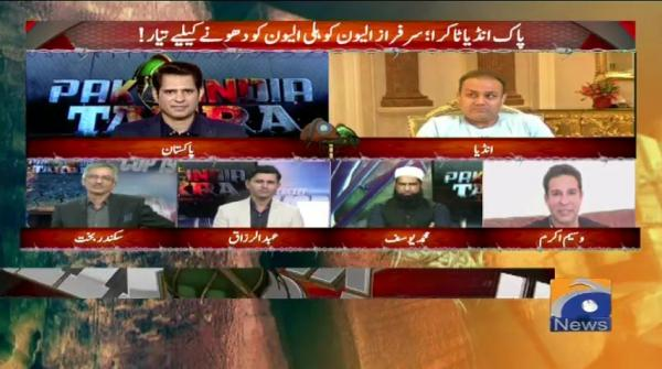 Pak India Takra with Shehzad Iqbal - 15 June 2019