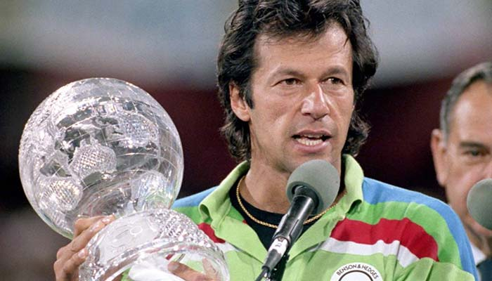Pakistan won ICC World Cup 1992 under Captaincy of Imran Khan