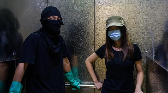 Hong Kong's surveillance-savvy protesters go digitally dark