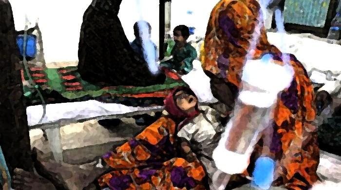 Seven children in Thar's Mithi die of malnutrition, bringing total this year to 386