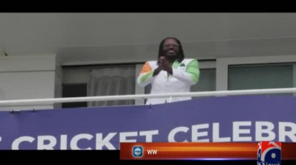 'Universe Boss' Gayle gears up for Pakistan-India clash with special suit