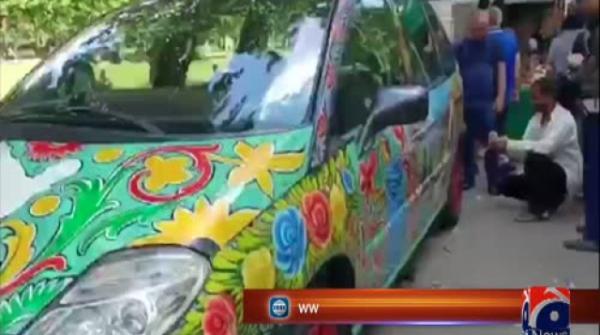 Pakistani culture festival in Bulgaria celebrates truck art, has cricket fans chanting for Indo-Pak match