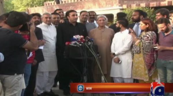 Bilawal says will start movement from 'Bibi's birthday rally' in Nawabshah