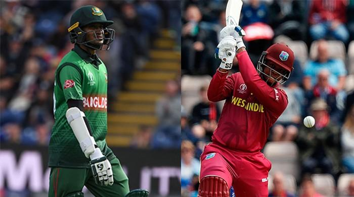 Bangladesh bowl against West Indies in World Cup