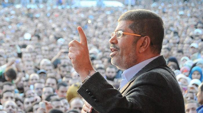 Egypt ex-president Mohamed Morsi dies: official sources