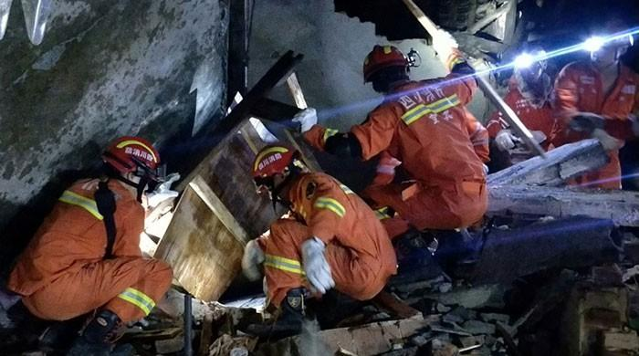 China earthquake kills 12, injures 134