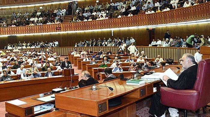 Will there be a debate on the budget in NA today?