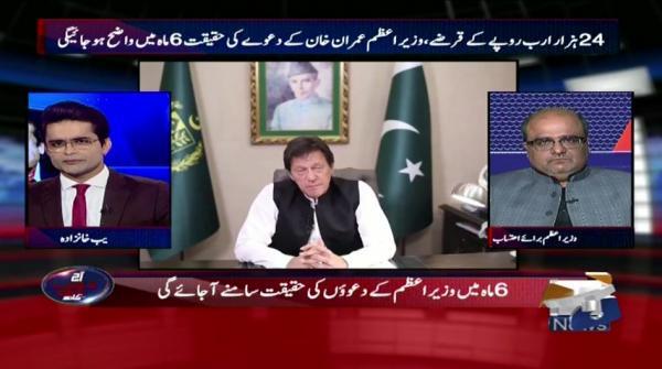 Aaj Shahzeb Khanzada Kay Sath - 18 June 2019