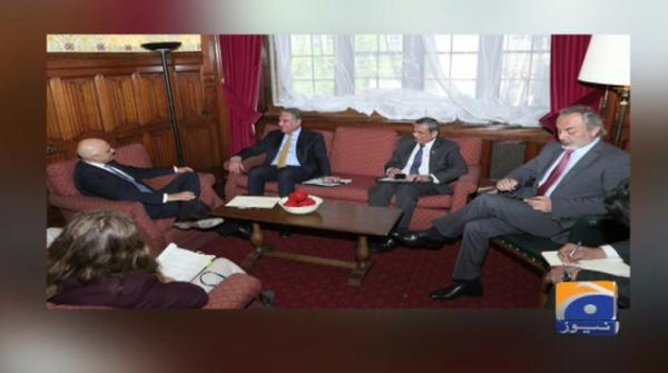 Geo News Special – FM Mahmood Qureshi meets British home secretary to discuss bilateral issues